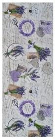 Behúň Universal Sprinty Lavender, 52 × 200 cm