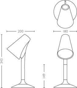 LED lampa Philips PICULET 1x2,5W