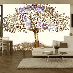 Fototapeta - Zlatý strom 200x140