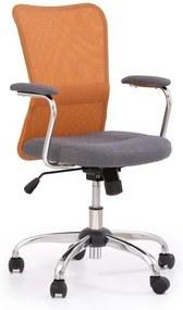 Detská stolička ANDY Halmar růžovo-šedá
