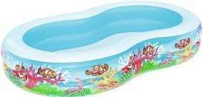 Bazén morská lagúna 262x157x46 cm