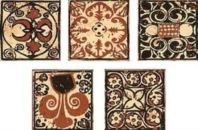 Dekor Multi Sumatra hnedá 6x6 cm mat CTVER14