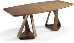 Jedálenský stôl z orechového dreva Ángel Cerdá Manolo, 220 × 100 cm