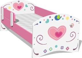 Ourbaby Detská posteľ Sweet Flowers rozmer na matrac 160x70