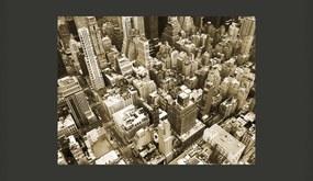 Fototapeta Bimago - New York, Manhattan + lepidlo zadarmo 200x154 cm
