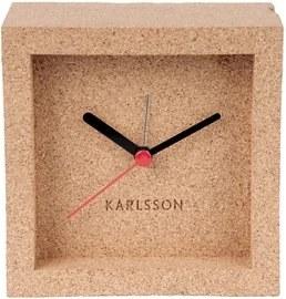 Stolní hodiny Corky, 10x10 cm, korek Stfh-KA5684 Time for home+