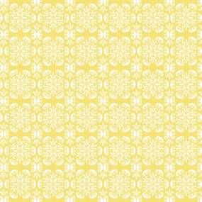 ORNAMENT  kuchynská zástena Žltá