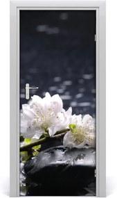 Fototapeta na dvere  kvet kamene