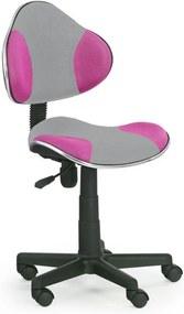 Halmar Dětská židle Flash 2 oranžovo-šedá