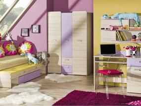 DL Študentská izba LUCAS 3 - fialová