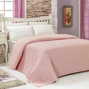 Prikrývka na posteľ Pique Powder, 200 × 240 cm