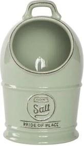 Zelená keramická dóza na soľ T&G Woodware Pride of Place