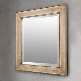 Štvorcové zrkadlo Sverre starožitná zlatá