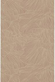 ferm LIVING Tapeta Coral Dusty Rose/Beige