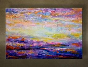 Ručne maľovaný obraz na stenu ABSTRAKT FB489E1