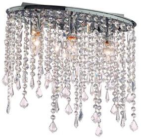 Ideal Lux - Krištáľové stropné svietidlo 3xE14/40W/230V