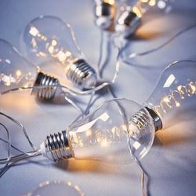 Butlers BULB LIGHTS BRIGHT LIGHTS Svetelná reťaz s LED žiarovkami