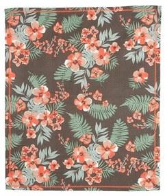 PRESENT TIME Sada 2 ks − Bavlnená utierka Floral