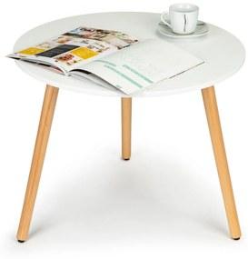 Konferenční stolek Eira ModernHome 60cm bílý