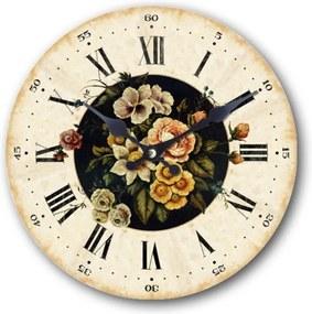 Drevené hodiny Lovely details 29 cm