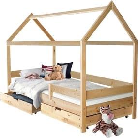 MG Detská posteľ domček Martin 90x200