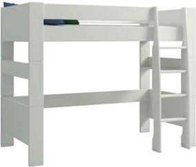 Sconto Poschodová posteľ FOR KIDS 614 biela, 90x200 cm