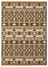 vidaXL Koberec, sisalový vzhľad, vnútorný/vonkajší, 140x200 cm, etno