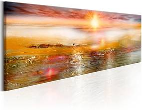 Obraz - Orange Sea 150x50