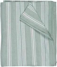 Garden Trading Bavlnený obrus Peppermint Stripe 320x160cm