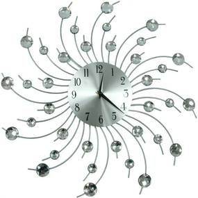 TZB Dizajnové nástenné hodiny Cristal Cloud - 50 cm