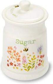 Dóza na cukor z kameniny Cooksmart England Flowers