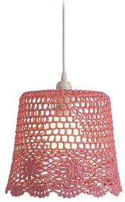 RENDL R13278 DAISY tienidlo na lampu, závesné tienidlá ružová