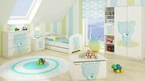 DO Modrý macík Detské izby 3ks - 140x70