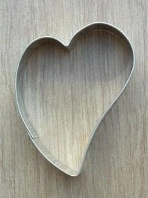 Vykrajovátko krivé srdce