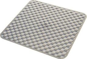 Geo 97535303 podložka do sprchového kúta 53x53cm s protišmykovou úpravou, kaučuk, béžová