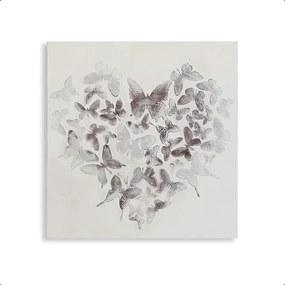 Bighome - Obraz BURTI - biela