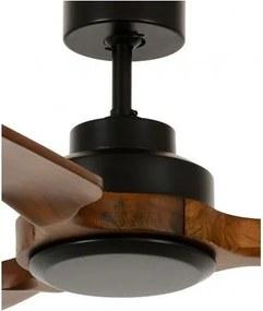Stropný ventilátor Lucci air SHOALHAVEN 142 čierna - drevo Koa, bez osvetlenia  213051