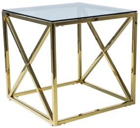 Expedo Konferenčný stolík JAX II, 55x55x55, zlatá