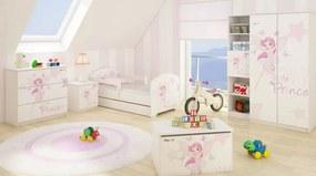 DO Dievčenská izba Little princess 3ks - 140x70