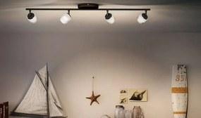 LED stropné svietidlo bodové Philips FREMONT 4x4W