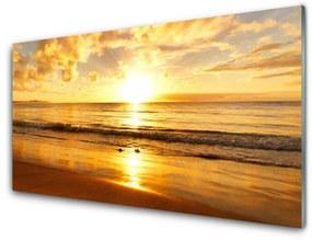 Nástenný panel More slnko krajina 125x50cm