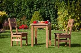 Drevená záhradná zostava PROWOOD z ThermoWood - SET S2 - Set + dodanie náteru v odtieni GR. GREY + PCD 91