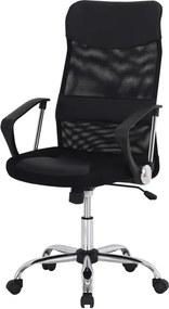 Sconto Otočná stolička DIRECT čierna
