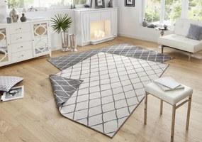 Bougari - Hanse Home koberce Kusový koberec Twin-Wendeteppiche 103118 grau creme - 200x290 cm