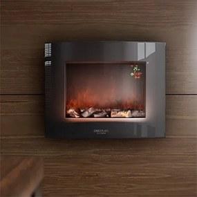 Elektrický krb na stenu Cecotec Warm 2600 Curved Flames 2000W