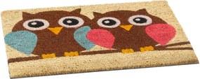 Vopi vnútorná rohožka Owls, 40 x 60 cm