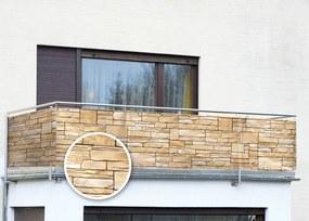 Zástena na balkón Múr