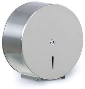 Zásobník na toaletný papier, nerez, Ø 260 × 125 mm
