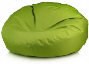 Ecopuf Sedací vak ECOPUF - ISLAND - polyestér NC1 - Svetlo zelená