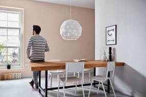 závesné stropné svietidlo Philips Corkwood E27 60W